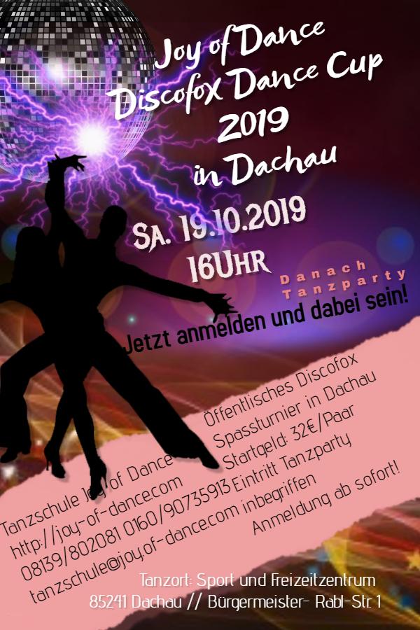 Öffentlicher Joy of Dance Cup 2019